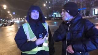 Сикушкин из новой полиции г. Харьков(Сотрудник полиции, боится произвести задержание транспортного средства за миллион грн , без номеров. Что..., 2016-02-02T20:55:45.000Z)