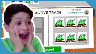 I Gave My Nephew The New Dragon Egg! - Roblox Magnet Simulator