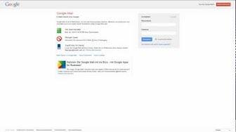 Google Mail: Bestätigung in 2 Schritten