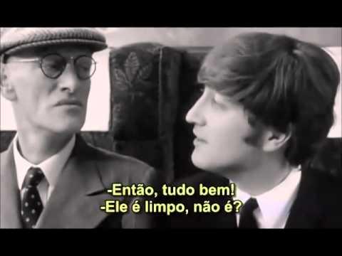 Is Paul´s Grandfather SCENE - A Hard Day`s Night - 1964 ( Legendado PT-BR )