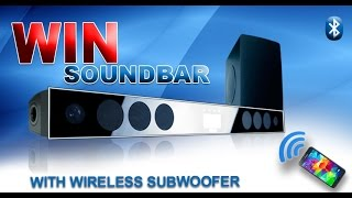 Soundbar for TV with Bluetooth and 8