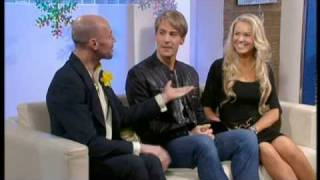 Zoe Salmon Dancing On ice interview - This Morning 9th March 2009