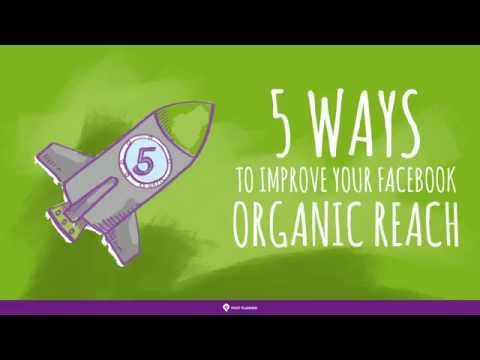 5 Ways to Improve Your Organic Facebook Reach