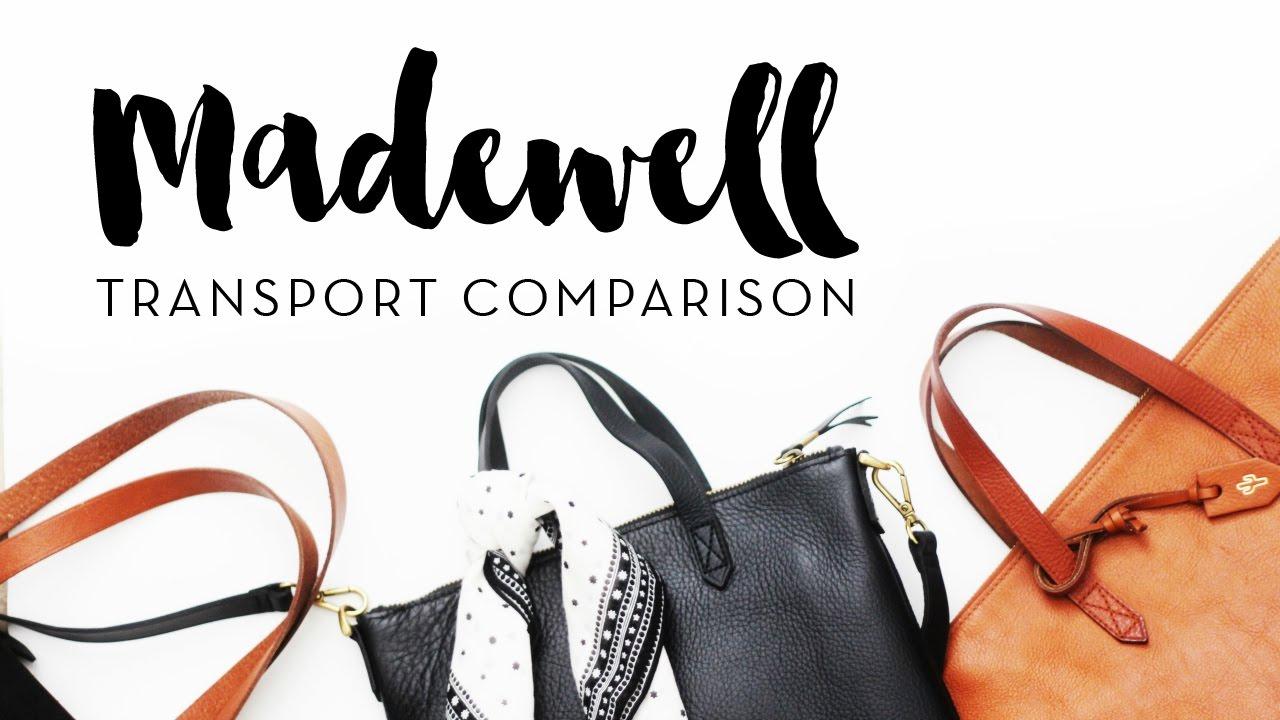 4da55fc62 Madewell Transport Totes Comparison - YouTube