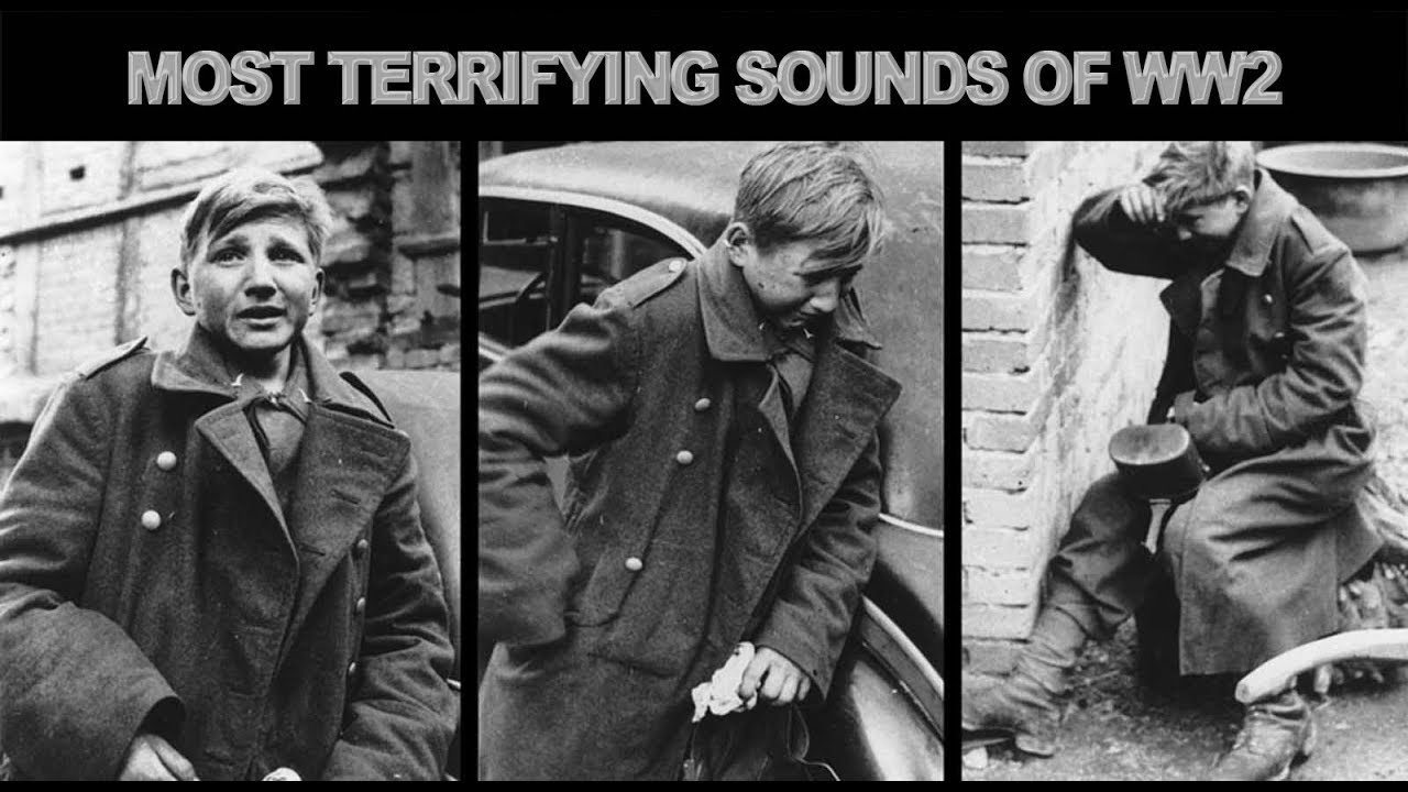 The Most Terrifying Sounds Of WW2!