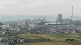 【最後の列車がゆく】 秩父鉄道 三ヶ尻線 廃止区間を走る 最終列車 デキ+ヲキ・ヲキフ100形 20両編成