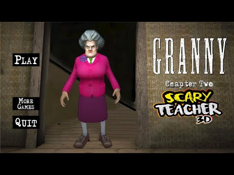 WHAT IF GRANNY WAS A SCARY TEACHER 3D? | Granny Chapter Two (Horror Game)
