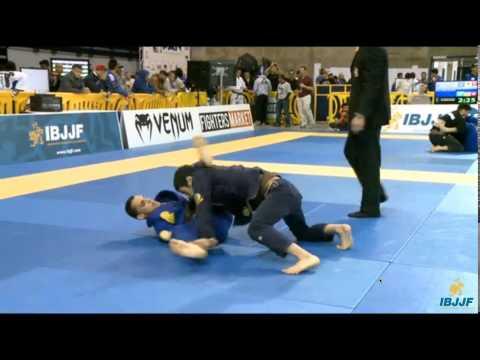 Pan 2015 IBJJF JIU-JITSU CHAMPIONSHIP橋本さん2回戦