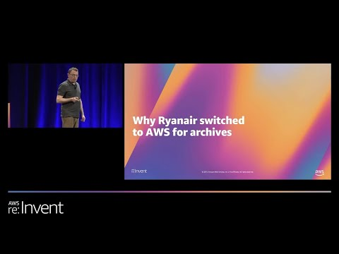 Shift Your Tape Backups to AWS to Save Time and Money (STG217) - Ryanair