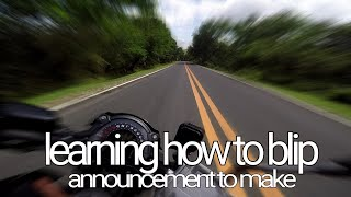 KAWASAKI Z650 learning to blip in Marilaque twisties | FB announcement