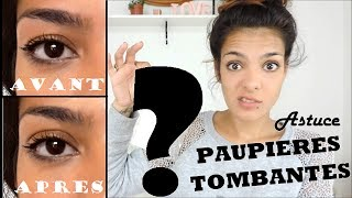 Astuce Paupière tombante - Une VRAI solution pour 1€ (sans chirurgie) ! Hooded eyes (Wish aliexpress