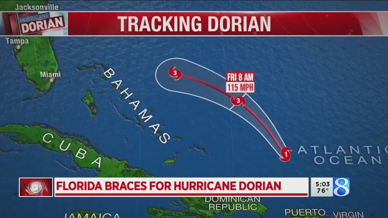 'A big deal': Florida braces for Hurricane Dorian