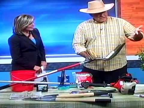 Yard tool maintenance with Larry ONeil