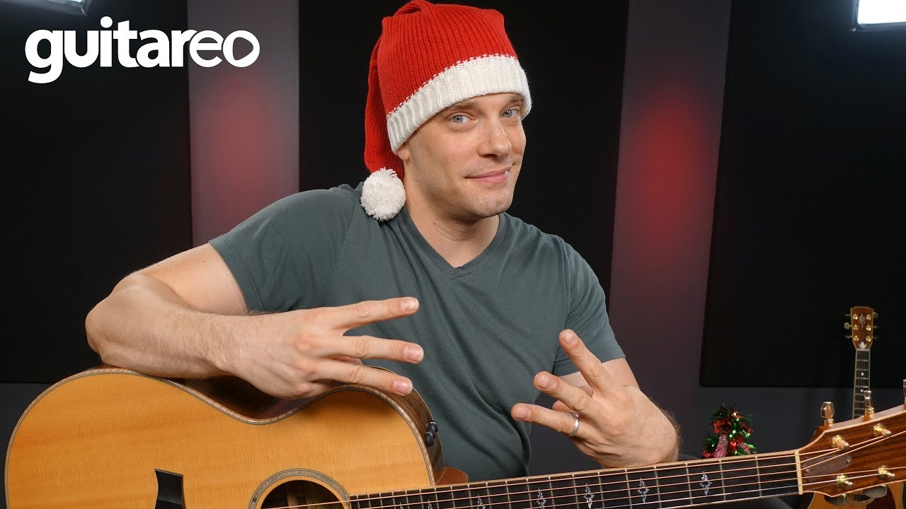 3 Easy Christmas Songs With 3 Chords Guitar Lesson Youtube