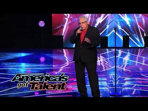 """Frank The Singer: 74-Year-Old's Cool """"I've Got You Under My Skin"""" Cover - America's Got Talent 2014"""