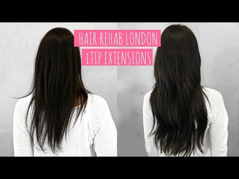 NEW HAIR! HAIR REHAB LONDON ITIP EXTENSIONS FULL REVIEW | Beauty's Big Sister