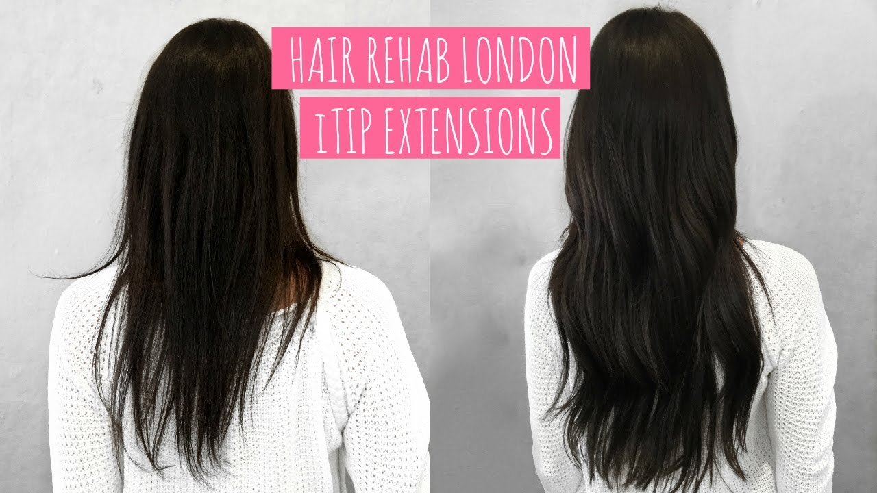 New Hair Hair Rehab London Itip Extensions Full Review Beautys