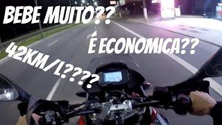 Consumo da BMW G310GS - Quase cai na terra!!