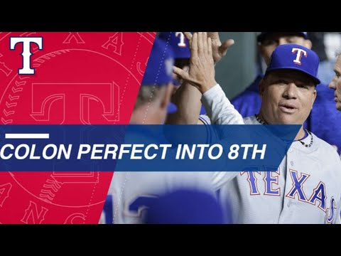 Bartolo Colon flirts with perfection against Astros