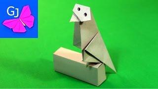 Оригами из бумаги ВОРОНА