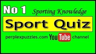 Sports Quiz No 1