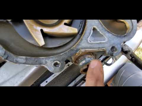 Replacing The Water Pump On A Dodge Durango And Fan Clutch Removal