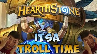 ITSA TROLL TIME | Hearthstone Rastakhan's Rumble Stream
