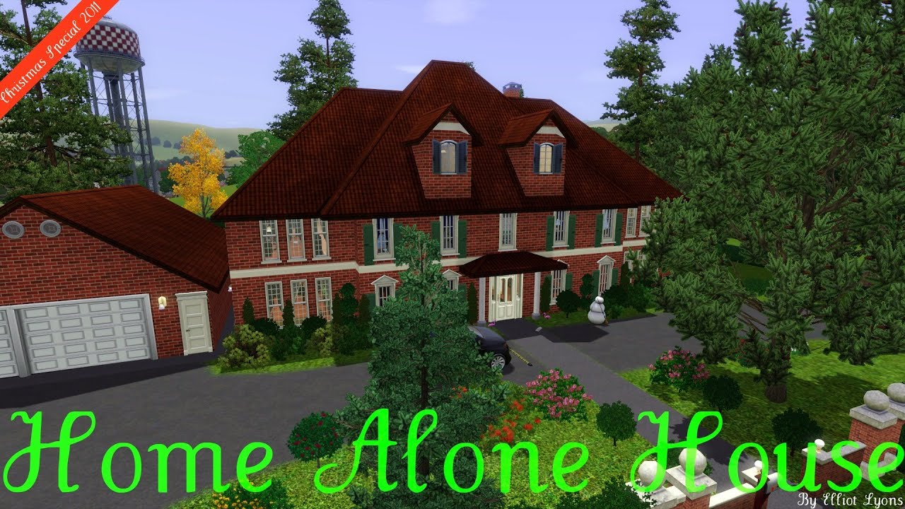 Sims 3 House Building The Home Alone House Walkthrough