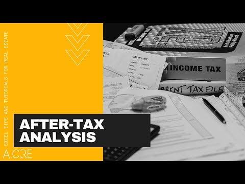 After Tax Analysis in Real Estate