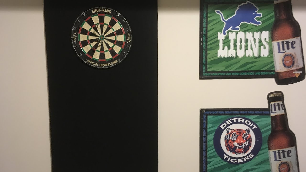 diy 25 dartboard back