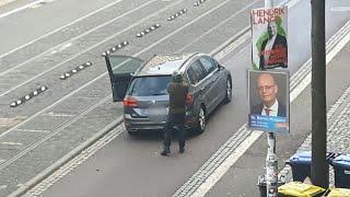Bilder zeigen Angriff von Halle   AFP