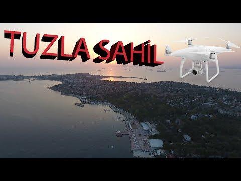 İstanbul Tuzla Sahili ve Marina 4k (Drone Çekimi)