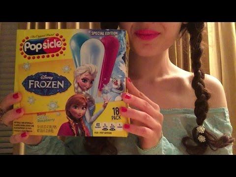 ASMR Popsicle (Reading Frozen)