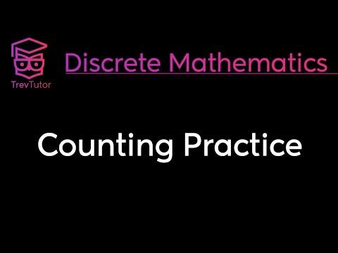 [Discrete Math 1] Counting Practice