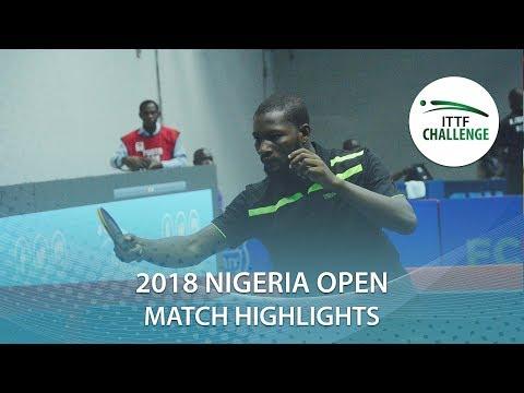 Olakunle Ajulo vs Mishay Maharaj | 2018 Nigeria Open Highlights (Group)