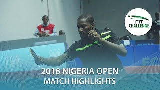 Olakunle Ajulo vs Mishay Maharaj | 2018 Nigeria Open Highlights (Group)
