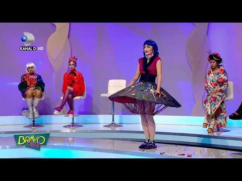 Bravo, ai stil! (01.07.2017) - Adela, tinuta WOW! Cu fusta asta nu s-a putut aseza pe scaun