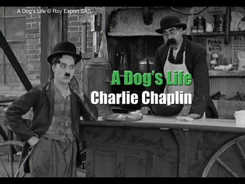 Charlie Chaplin and his brother Sydney in a  from A Dog's Life 1918
