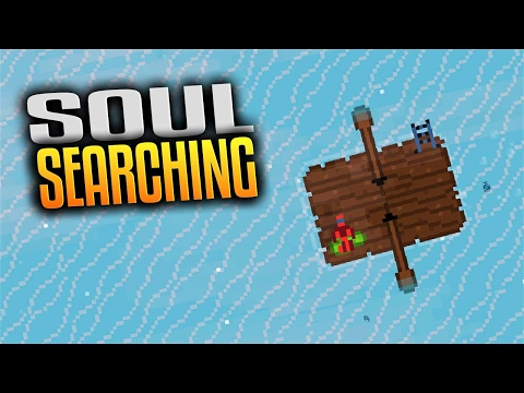 Soul Searching - Open World Raft Survival in Pixel Art  (Let's Play Soul Searching Gameplay Ep 1)