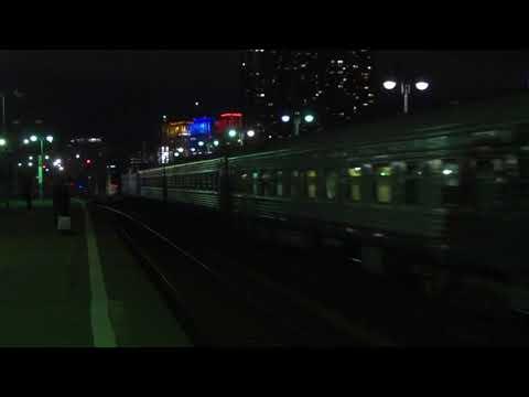 Электровоз ЧС7-040 с пассажирским поездом № 602Я Москва - Рыбинск