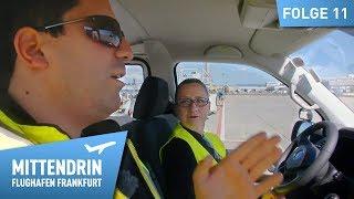 Mit dem Fahrerausbilder auf dem Vorfeld unterwegs | Mittendrin – Flughafen Frankfurt (11)
