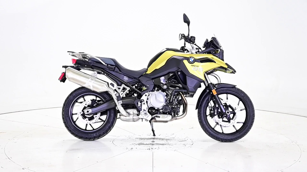 2020 bmw f750gs yellow new - youtube