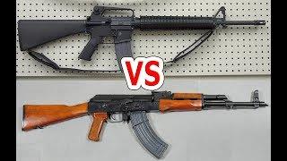 M16とAKはどっちが優秀なのか問題【NHG】