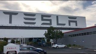 Tesla Factory Tour - Fremont