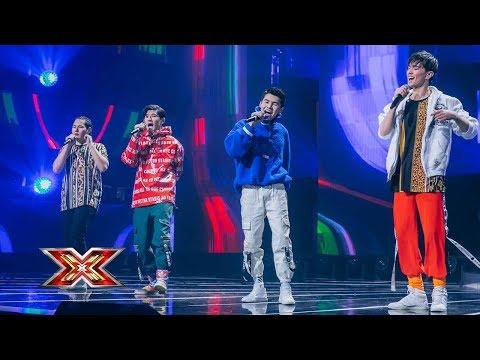 "In Coro. ""I got love"". (Miyagi, Эндшпиль Ft. Рем Дигга) X Factor Kazakhstan. Season 7. LS-07. Ep. 17"