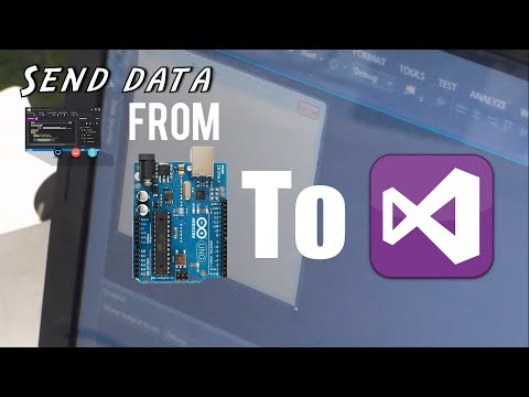 Send Data from Arduino To visual Studio App
