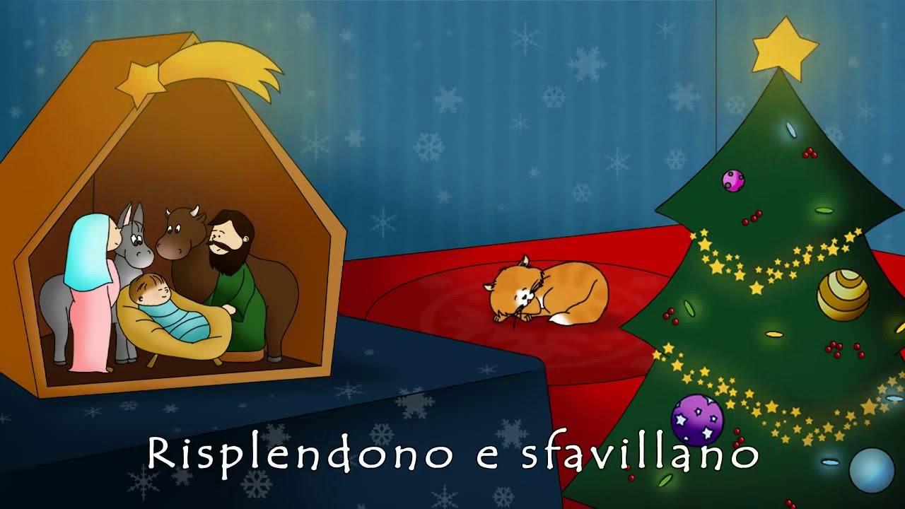 Albero Di Natale Youtube.Canzoni Di Natale Oh Albero Video Con Testo Che Scorre Versione Dolcissima Cantata Da Bambini Youtube