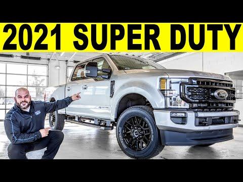 2021 Ford F-250 Super Duty Lariat Diesel - FULL Exterior & Interior REVIEW!