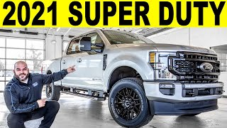2021 Ford F-250 Super Duty Lariat Diesel - FULL Exterior & Interior REVIEW!