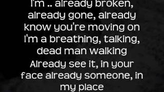 The Script - Dead Man Walking ( Lyrics )